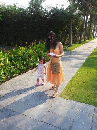 Fusion Maia Da Nang: morning walk