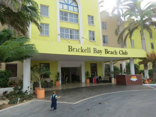 Brickell Bay Beach Club & Spa: Entrada