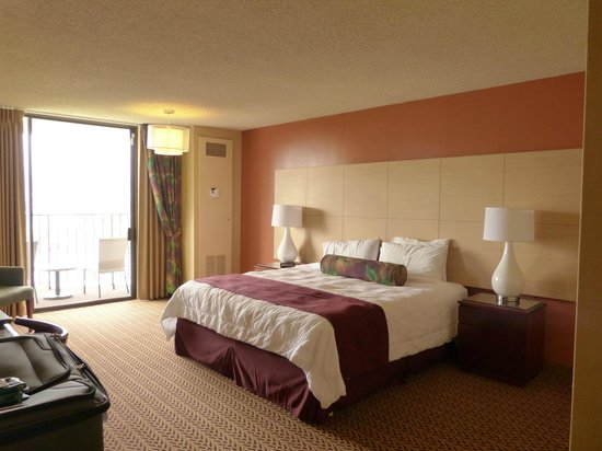 Castle Hilo Hawaiian Hotel: Nice Room, Great View