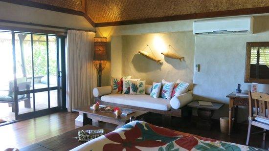 Pacific Resort Aitutaki: our room