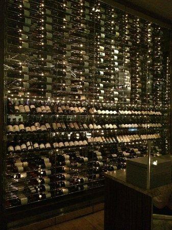 Mandarin Oriental New York Wine Cellar Asiate