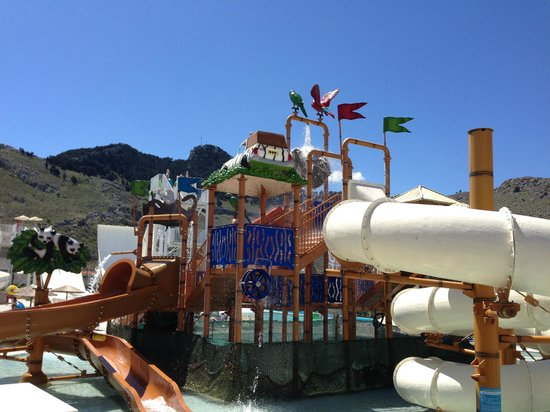 Atlantica Club Aegean Blue: Water Park Slides