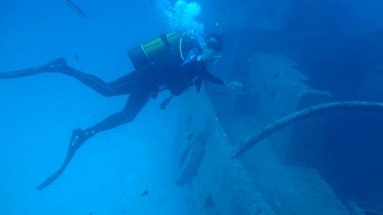 Neptunes Diving Malta: Naufrágio THE ROZI