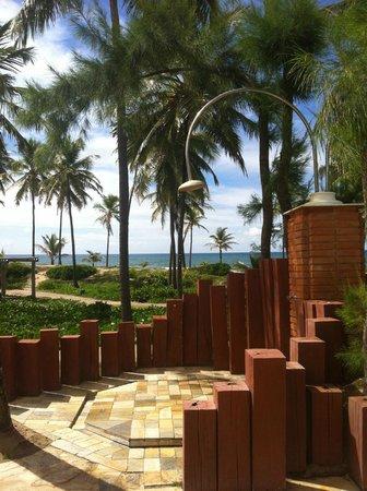 Sauipe Premium : vista da piscina pro mar