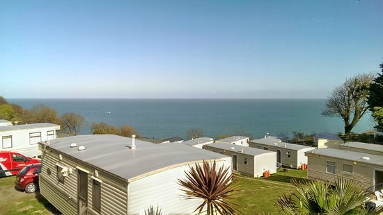 Sandaway Beach Holiday Park: View from clubhouse balcony