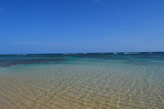 Grand Bahia Principe El Portillo : Beach on the right side of our hotel