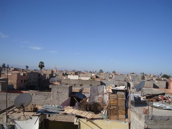 Riad Aicha Marrakech : The view from the roof