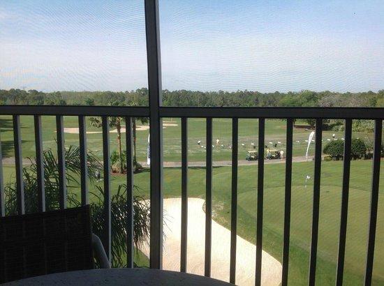 Marriott's Grande Vista : Sur le patio....