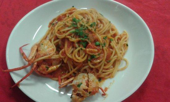 Taverna Bellini: spaghetto al cranchio