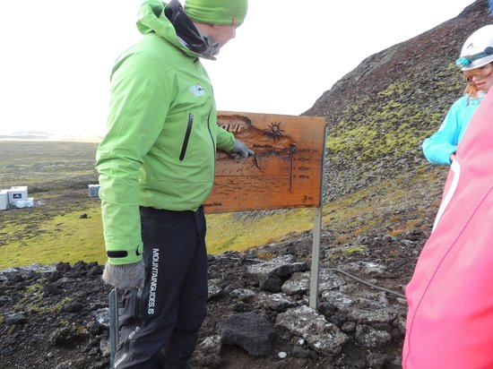 Inside The Volcano: Almost to the top