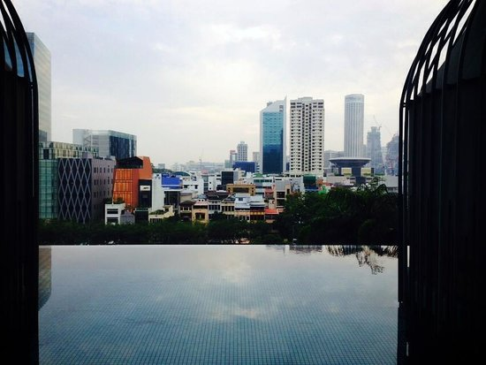 PARKROYAL on Pickering: View from the pool