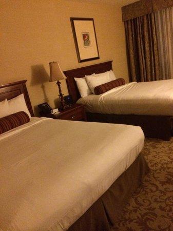 Monte Carlo Resort & Casino: Recámara doble , sencilla , limpia, amplia , cómoda .