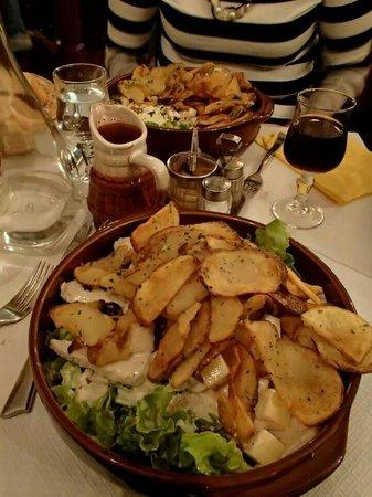 LE RELAIS GASCON : Amazing salad!