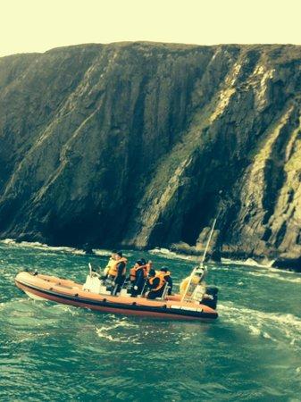 Wavesweeper Sea Adventures: Cliffs near Erris Head