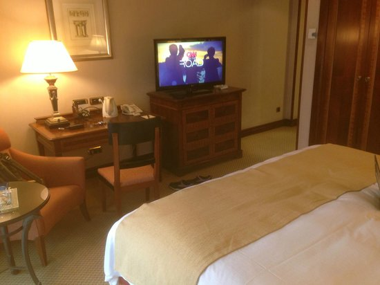 InterContinental Madrid: Rather cramped room