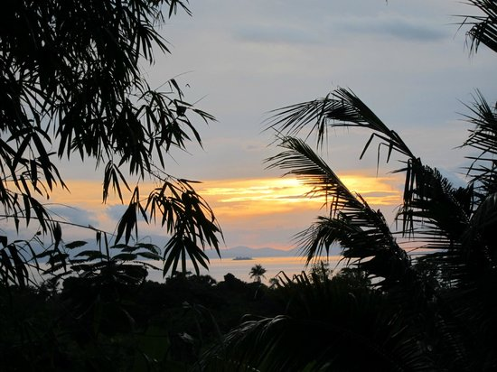 Kep Lodge : view from lychee bungalow