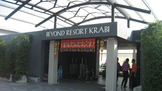 Beyond Resort Krabi : front entrance