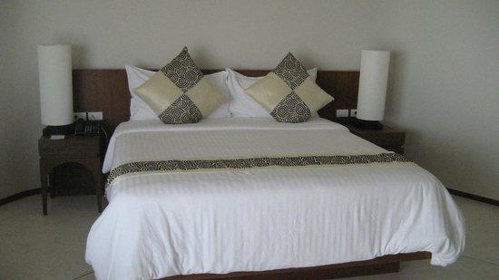 Beyond Resort Krabi : bed- pretty comfy