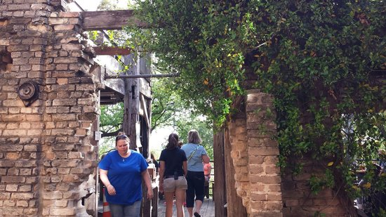 Gristmill: Outdoor Entrance