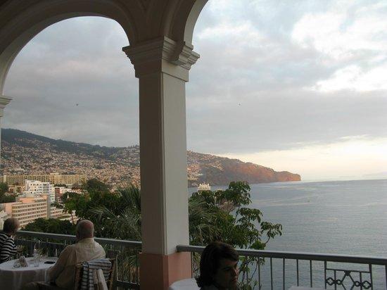 Belmond Reid's Palace: veiw from the Balcony where you have tea