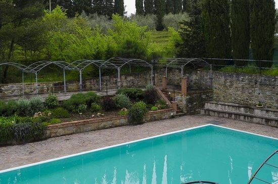 Villa Schiatti: Vista dalla Camera 9
