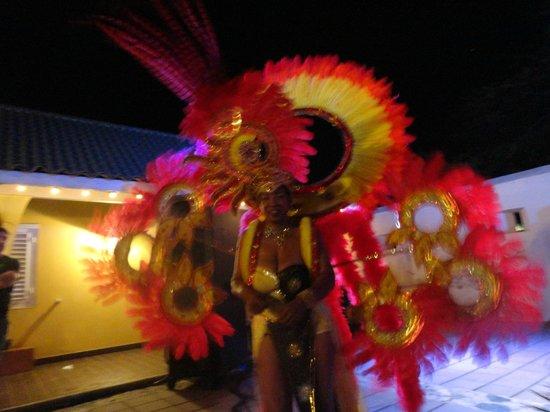 Bon Bini Festival: Carnival Dancer
