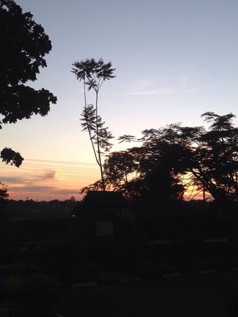 Murchison Falls National Park: ...and those amazing sunsets