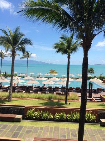 Hansar Samui Resort: First floor balcony view