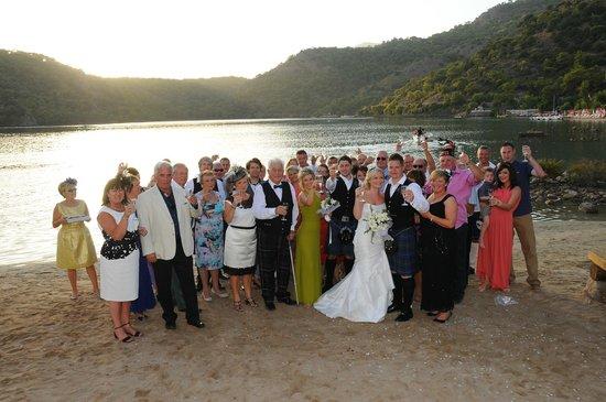 Leytur Hotel : Wedding party