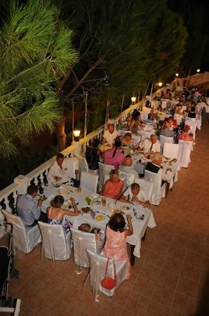 Leytur Hotel : Beautiful meal