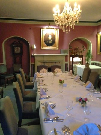 The Farmhouse at Redcoats: One of the private dining rooms that are available for use