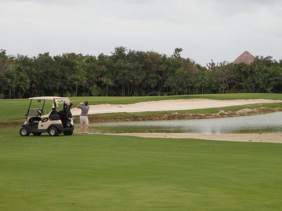 Playa Mujeres Golf Club : hole #9