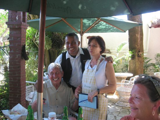Teresa, one of the proprietors of El Sueno