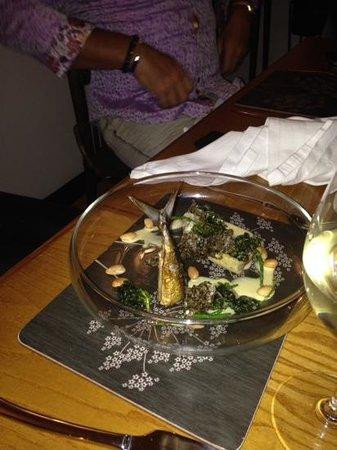 The Elderflower Lymington: fantastic fish