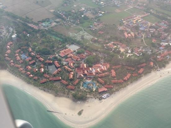 Meritus Pelangi Beach Resort & Spa, Langkawi : Anlage von oben