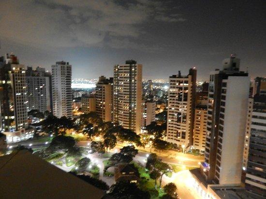 Radisson Hotel Curitiba: vista da cidade