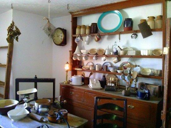 Grove Museum of Victorian Life: Kitchen (skullery) area