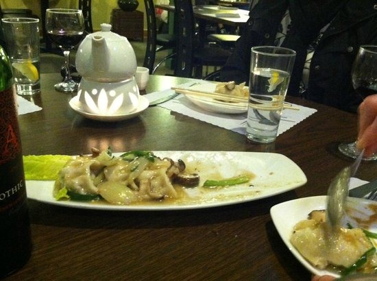 An Choi Asian Contemporary Cuisine : I think this was.....the dumplings!