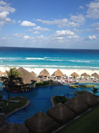 Paradisus Cancun : The view from our room - Rm 3207