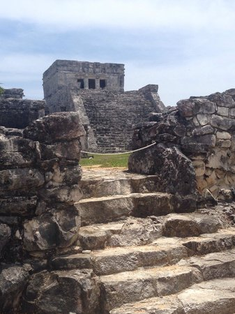 Deep Life Diving & Training : Benny gave my boyfriend and I a private tour of the Tulum ruins after our 2 tank cave dive with