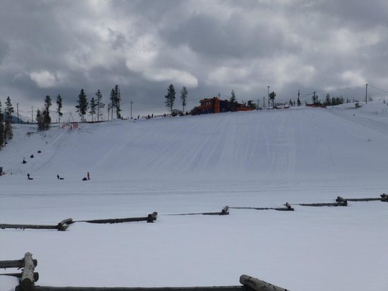 Fraser Tubing Hill: tubing hill in daylight