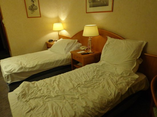 Radisson Blu Beke Hotel, Budapest: twin room on 3rd floor
