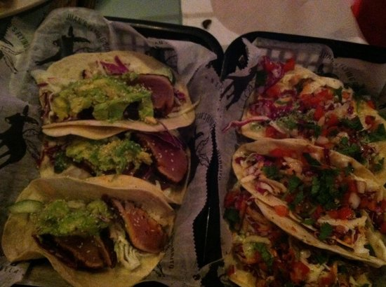 Juan's Flying Burrito : Can't miss the blackened red fish