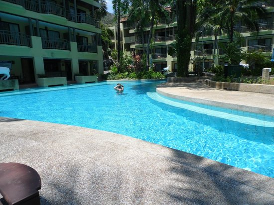 Phuket Marriott Resort & Spa, Merlin Beach: Our private pool