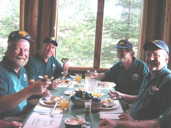 Loch Island Lodge: Dining room at Loch Island