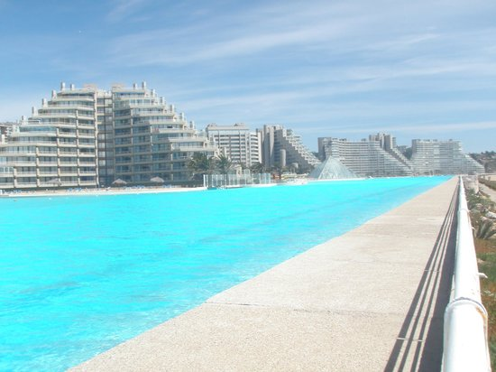 San Alfonso del Mar: pool