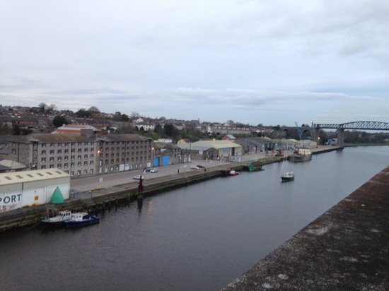 The d Hotel Drogheda: View from the room