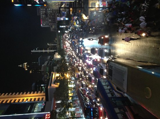 Prince Palace Hotel: Немного ночного Бангкока