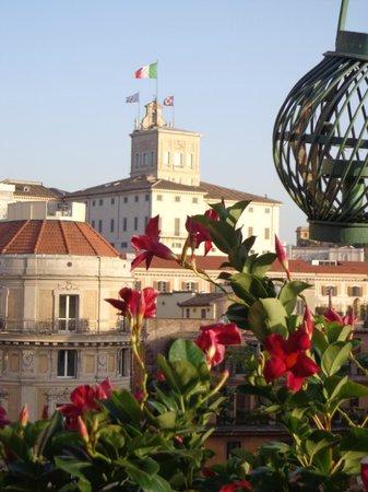 La Fenice : Vue depuis la terrasse - Palais du Quirinale