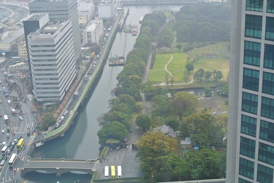 Royal Park Hotel The Shiodome, Tokyo: Hama Garden from the hotel room